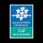 logo de la CAF Gironde